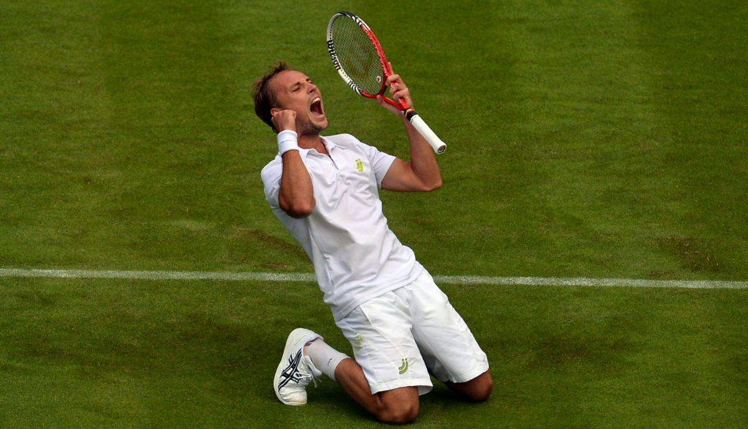 Gratis livestream Steve Darcis   Roberto Bautista Agut, Wimbledon