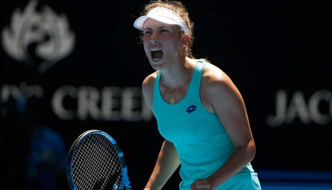 Livestream Mertens Bellis 1080x620 Livestream Elise Mertens   Catherine Bellis, Australian Open