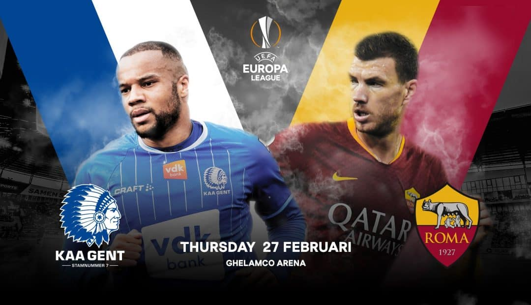 Livestream Gent Roma 1080x620 Livestream Gent   AS Roma, Europa League