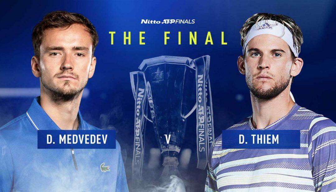Livestream Daniil Medvedev Dominic Thiem 1080x620 Livestream Daniil Medvedev   Dominic Thiem, finale ATP Finals 2020