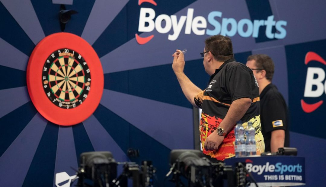 Livestream Jose de Sousa James Wade 1080x620 Livestream José de Sousa   James Wade, finale Grand Slam of Darts