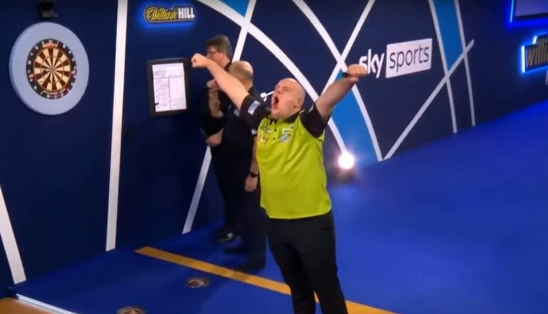 Livestream van Gerwen Chisnall 1080x620 Livestream Michael van Gerwen – Dave Chisnall, kwartfinale WK Darts