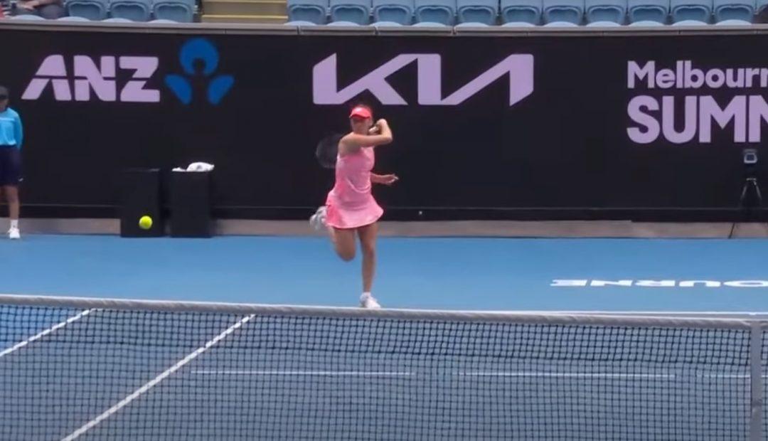 Livestream Zhu Mertens 1080x620 Livestream Lin Zhu   Elise Mertens, Australian Open 2021
