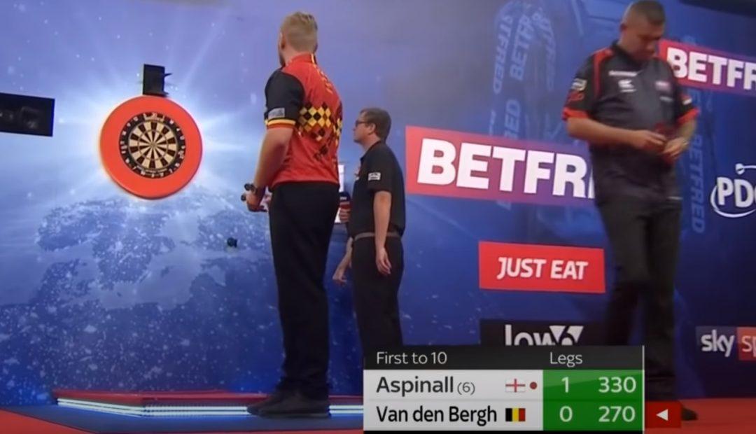 Livestream van den Bergh Aspinall 1080x620 Livestream Dimitri van den Bergh   Nathan Apsinall, Premier League Darts