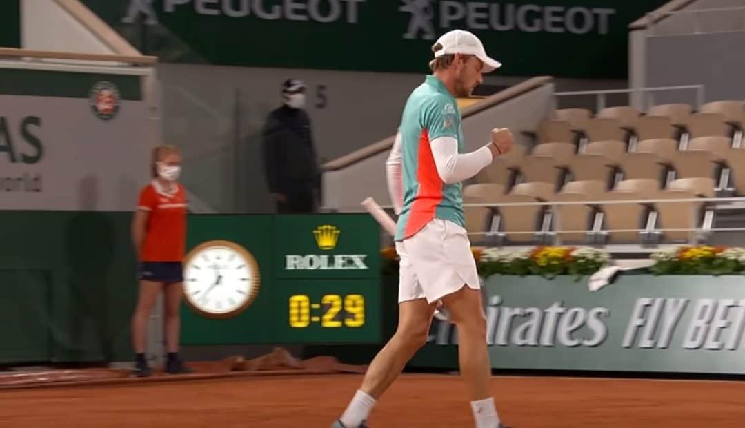 Livestream Musetti Goffin 1080x620 Livestream Lorenzo Musetti   David Goffin, Roland Garros