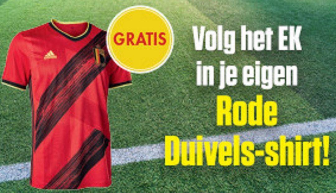 Gratis Rode Duivels shirt als geschenk bij een abonnement op Sport Voetbalmagazine met korting 1080x620 Sport/Voetbalmagazine promo: 28% korting en een Rode Duivels shirt als geschenk